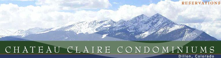 Chateau Claire Condominiums, Lake Dillon, Colorado, near Breckenridge.